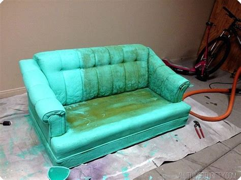can you spray paint a couch sofa paint spray painting upholstery it can be done with