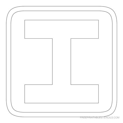 block letter template printable block letter stencils free printable stencils