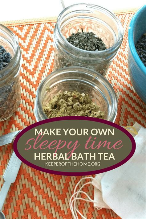 make your own bathtub how to make your own herbal bath tea sleepy time recipe keeper of the home
