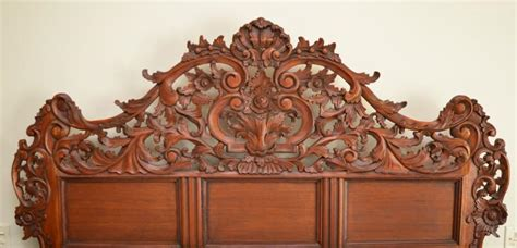 rococo bedroom furniture uk rococo style carved bedroom set