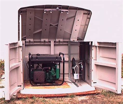 Generator Sheds For Sale by Ulisa Generator Storage Shed