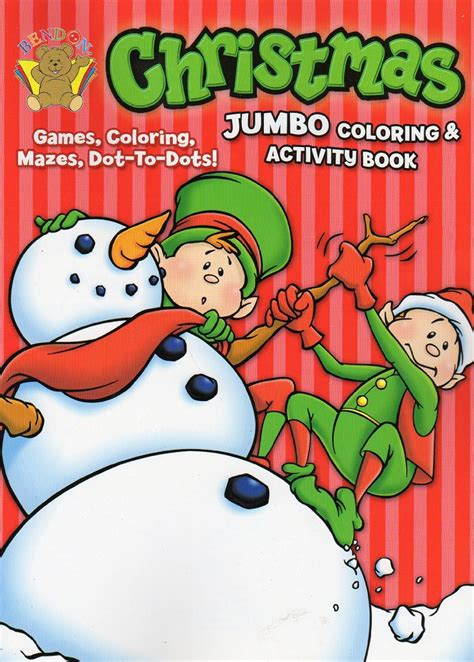 Jumbo Book Activities jumbo coloring and activity book