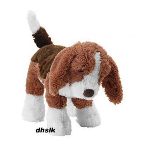 ikea dog ikea gosig valp puppy dog soft plush toy baby safe