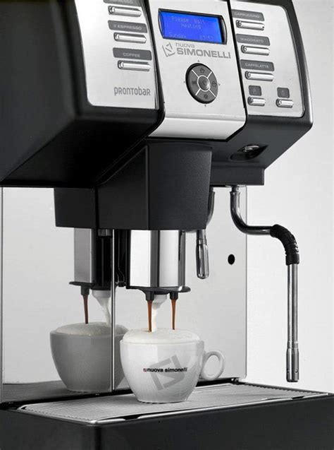 Coffee Machine Simonelli nuova simonelli prontobar bean to cup coffee machine