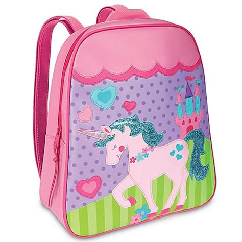 Mey Josep Backpacks Pink backpacks gt stephen joseph 174 unicorn go go backpack in