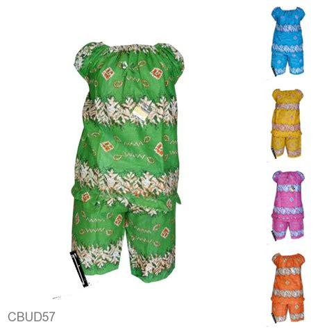 Mario Setelan Baju Anak Sehari Hari Ekonomis baju batik babydoll motif rumbia cerah daster longdress babydoll murah batikunik