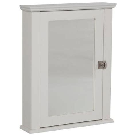 home depot white medicine cabinet home decorators collection lort 22 in x 27 in surface