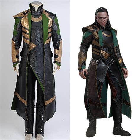 Discon Jaket Avenger Thor thor 2 ii the world loki costume battle suit attire ebay