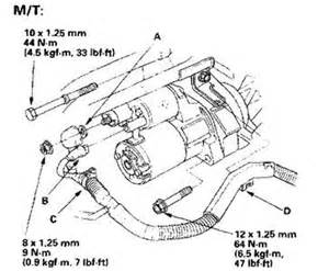 how to replace a 2004 honda accord ex starter solved