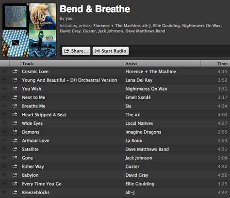 song playlist image gallery playlist