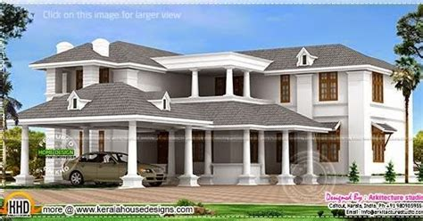large luxury house plans big luxury home design home kerala plans