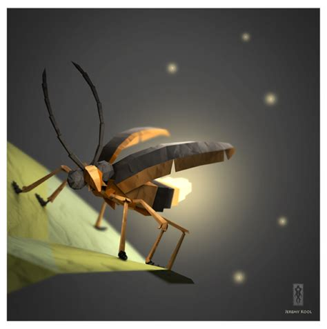 Firefly Papercraft - 3d origami illustrations of animals motley news