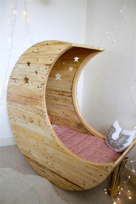 Diy Moon Bed Crescent Moon - original crib shaped like a moon by jocelyn costis