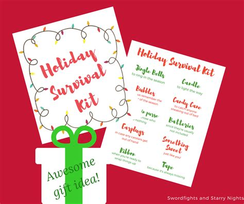christmas grinch survival kit make your own survival kit an easy diy gift
