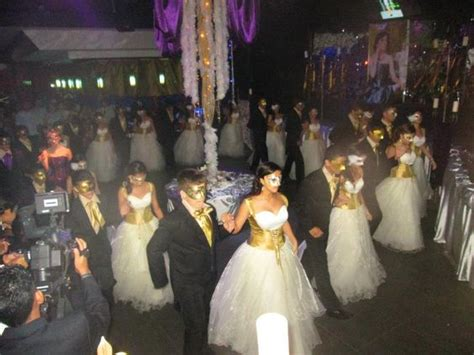 gold quinceanera themes this is how they do it in roatan honduras masquerade