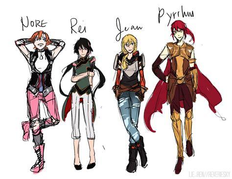 rwby character names