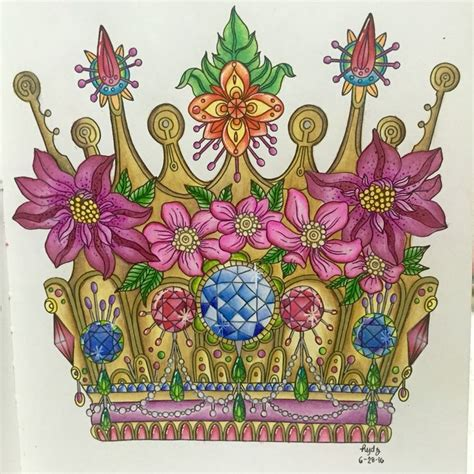 how i wear my crown coloring book books crown from dagdrommar book by karlzon my colored