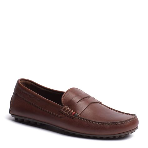 hilfiger loafer shoes hilfiger amalfi loafer in brown for winter