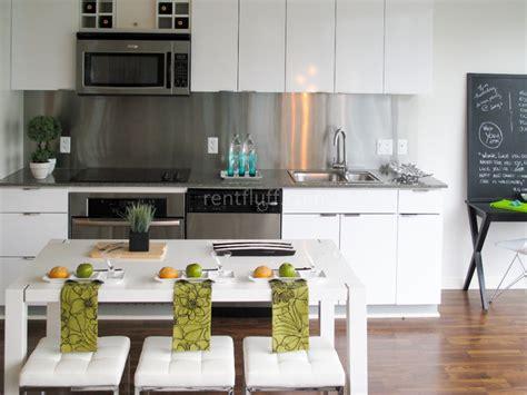 decoration metal backsplash for kitchen kitchentoday condo kitchen