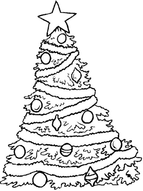 christmas tree coloring pages coloring lab
