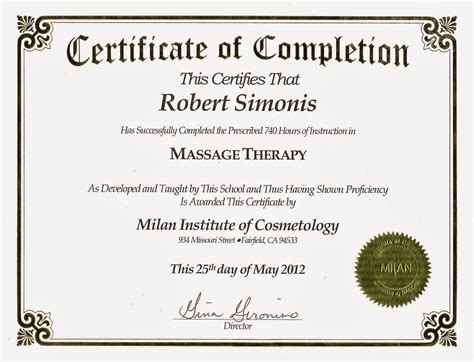 marriage counseling certificate of completion template lavender therapy