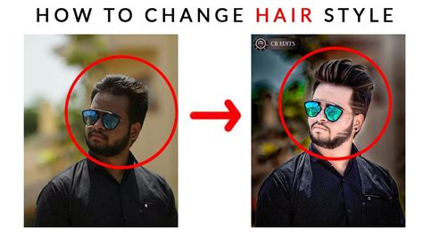 Change Hairstyle Photoshop by How To Change Hair Style In Photoshop