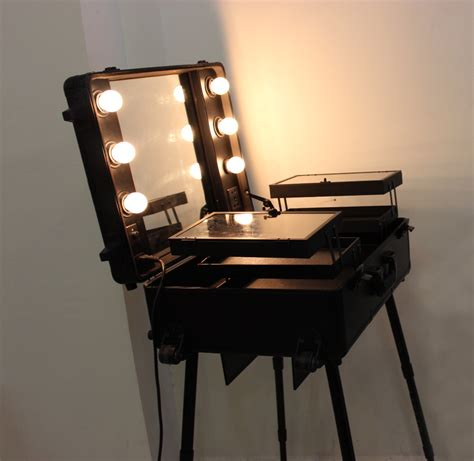 makeup luggage with lights online buy wholesale makeup station from china makeup