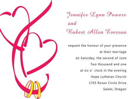 engagement announcement card template free engagement invitation card template with hearts