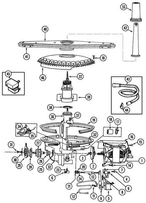 kenmore ultra wash dishwasher model 665 parts diagram kenmore elite dishwasher parts diagram ticketfun me