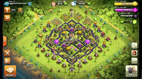 th8 base layout december update clash of clans best th8 farming base new th11 december
