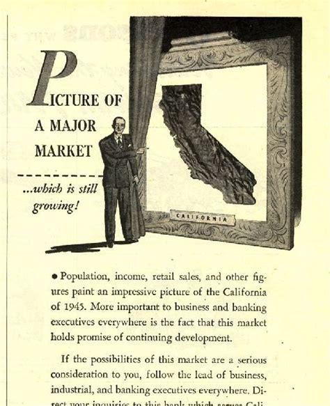 bank of america ad 1945 bank of america magazine ad print magazine ads