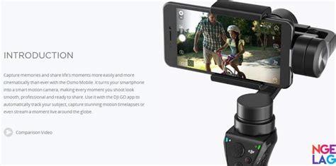 harga dji osmo mobile gimbal stabilizer smartphone ngelag