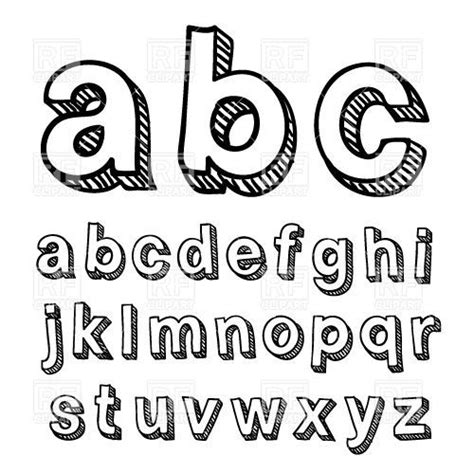 best 10 cool fonts alphabet ideas on pinterest cool