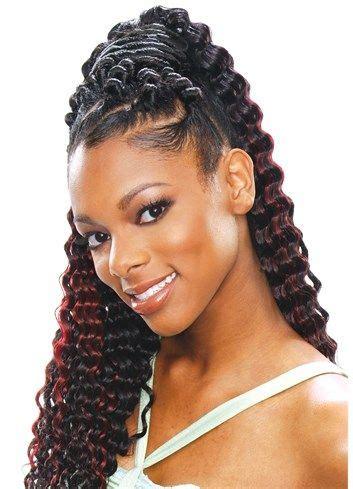 SOFT DEEP CURL   Bulk Hair for Crochet Braids   Pinterest