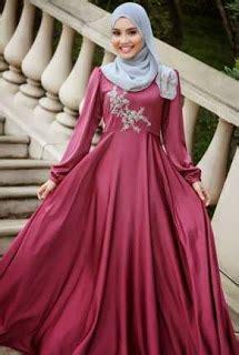 Baju Pesta Muslim Bahan Satin model baju satin untuk anak muda gaya trendy ke pesta dan santai model baju busana muslim terbaru