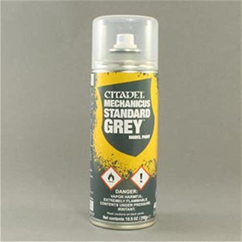 spray paint standards mechanicus standard grey citadel spray paint