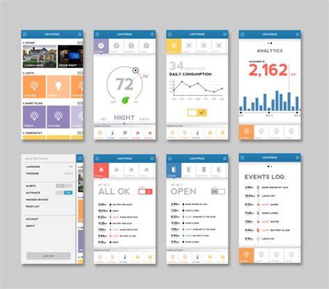 invoke pattern ui automation home automation app by jack s design via behance