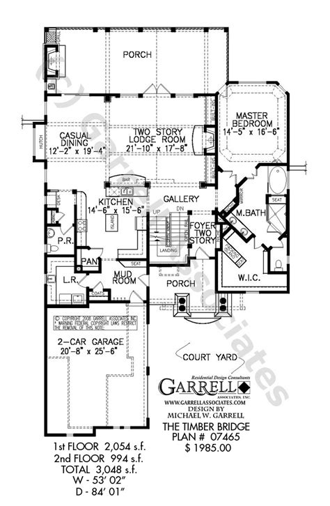 timber house plan timber bridge cottage house plan house plans by garrell associates inc