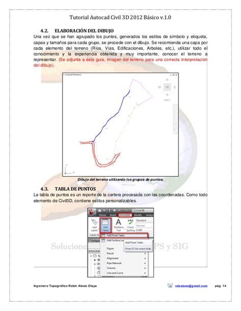 civil autocad 2007 tutorial pdf tutorial autocad civil 3d 2012 bc3a1sico v