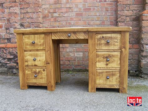 Handmade Pine Furniture - large handcrafted dressing tables by incite interiors derby