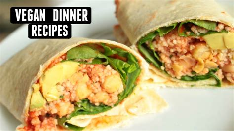 vegan recipes dinner easy vegan dinner ideas