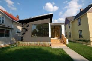 modern prefab homes mn small contemporary prefab home hive modular the owner
