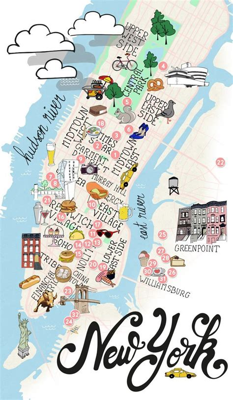 best map of new york city 25 best ideas about map of new york on map of