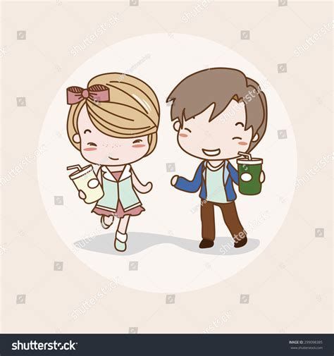 Lovelove Anime Wedding Animation by Vector Illustration