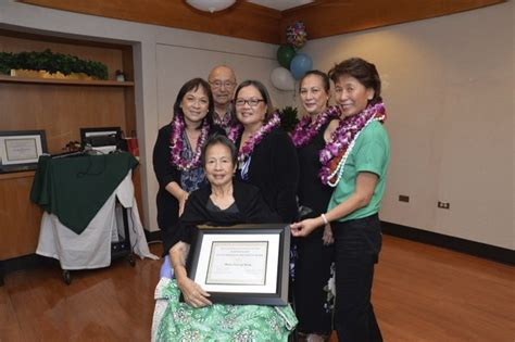 photos from the 65th anniversary maunalani nursing