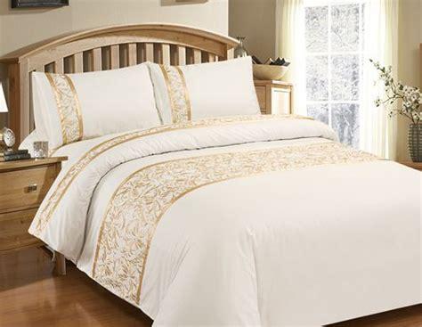 Cotton Bed Sheet Set Sprei Shabby Chic luxury chic vintage white bedding set embroidery duvet