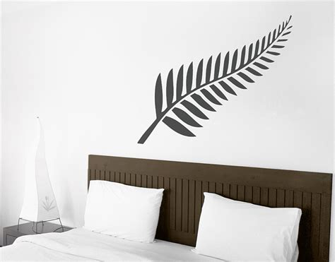 wall stickers nz silver fern your decal shop nz designer wall