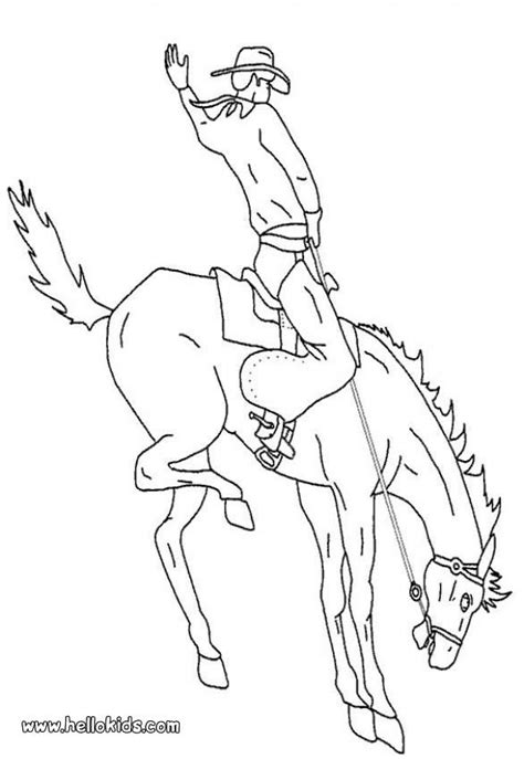coloring pages of cowboys and horses 329 best coloring western far west and images on
