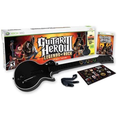 guitar tutorial xbox guitar hero 3 legends of rock guitar controller game