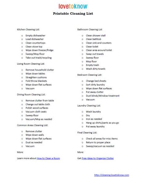 house cleaning names home cleaning checklist new calendar template site